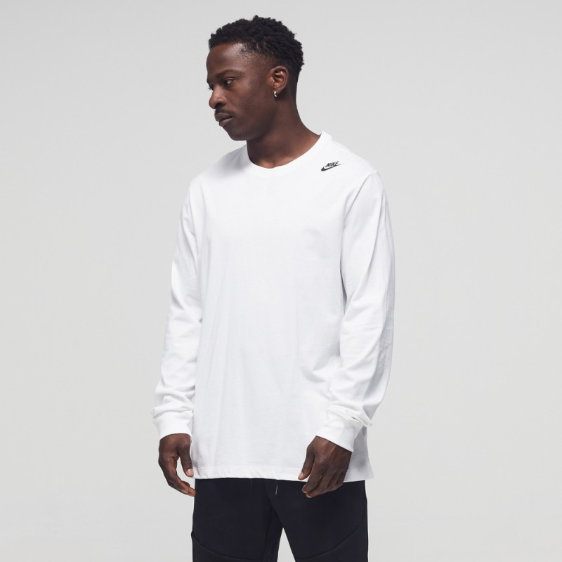 Tee-Shirt Nike 3D Blanc Manche Longue