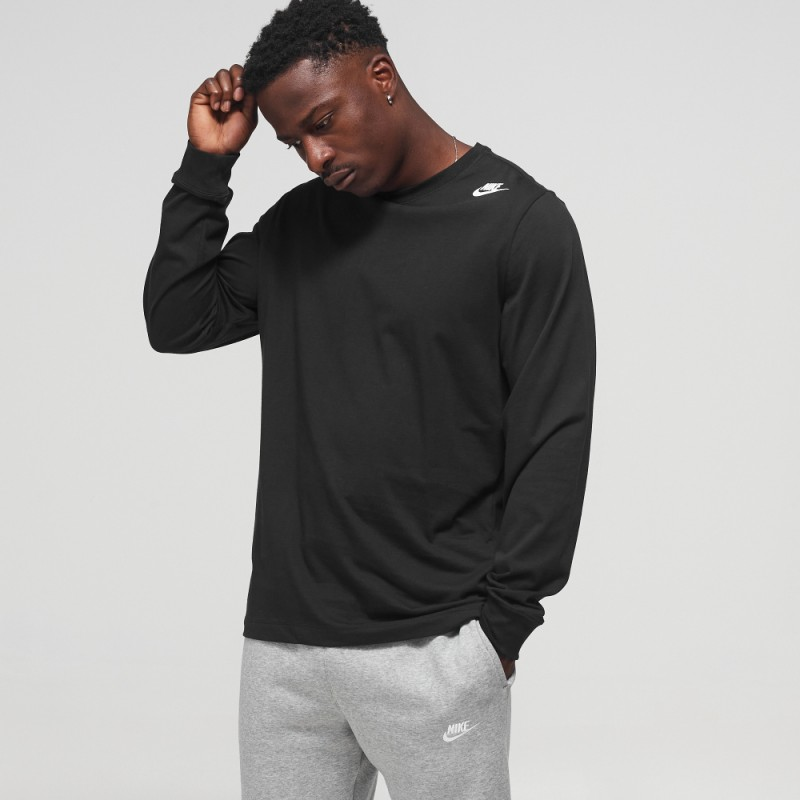T-Shirt Nike 3D Noir Manche Longue