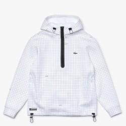 Sweatshirt LACOSTE à capuche imprimé à enfiler