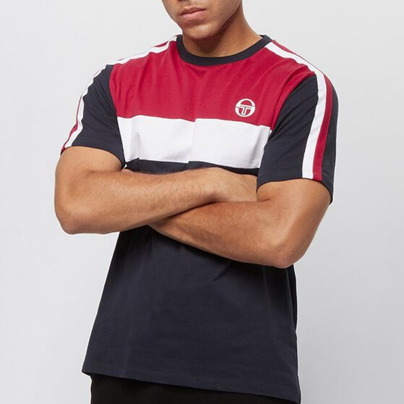 T-Shirt Sergio Tacchini Before Navy Rouge