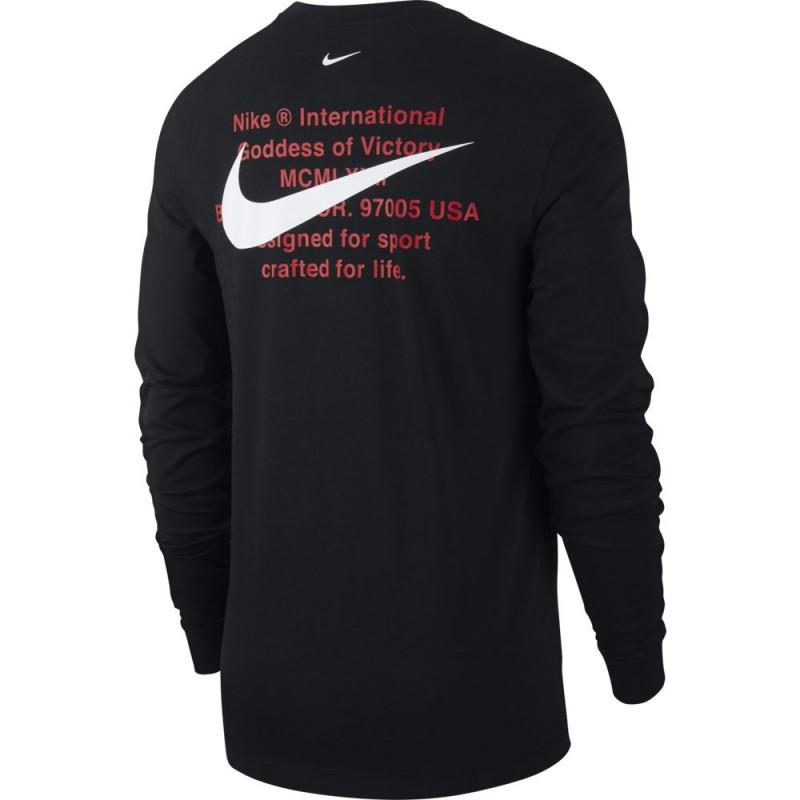 T-shirt manches longues Nike Sportswear Swoosh