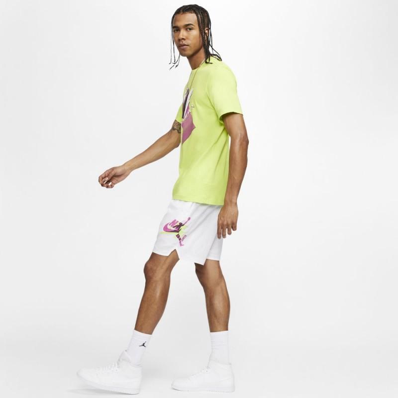 Short Nike Jordan Jumpman Poolside Blanc
