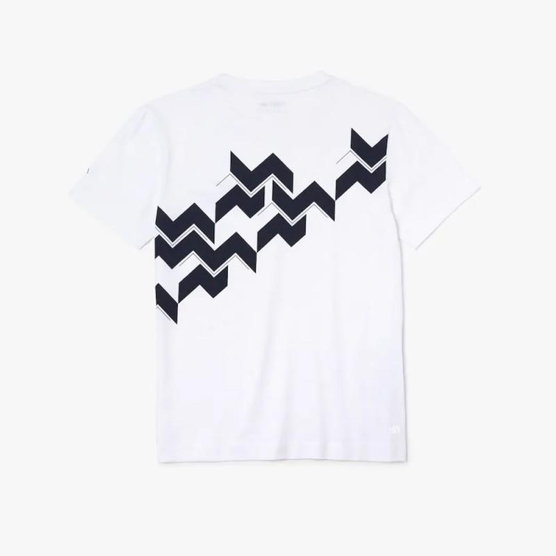 T-shirt Lacoste SPORT x Novak Djokovic en jersey respirant