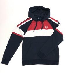 Sweatshirt à Capuche Sergio Tacchini Basis Marine