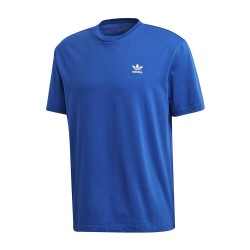 T-SHIRT ADIDAS BIG TREFOIL OUTLINE BLEU