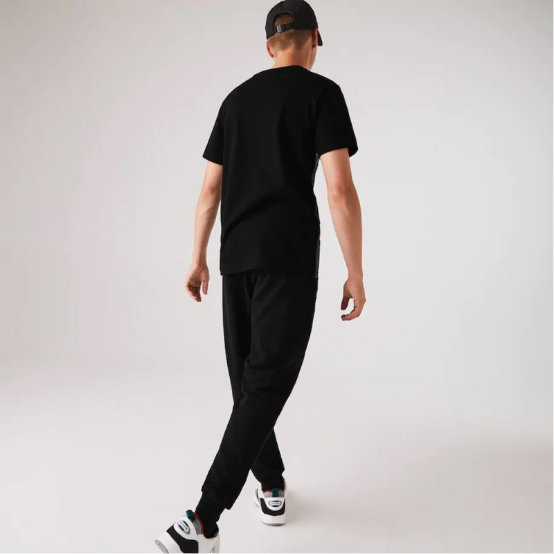 Pantalon de jogging Lacoste SPORT en molleton de coton biologique