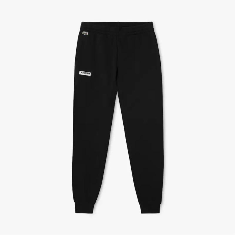 Pantalon de jogging Lacoste SPORT en molleton uni avec badge