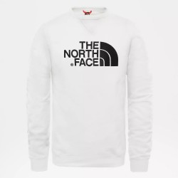 Sweat The North Face Drew Peak Crew Blanc