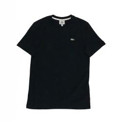 T-shirt unisexe Lacoste LIVE en coton avec croco inversé(Ce modèle taille grand)