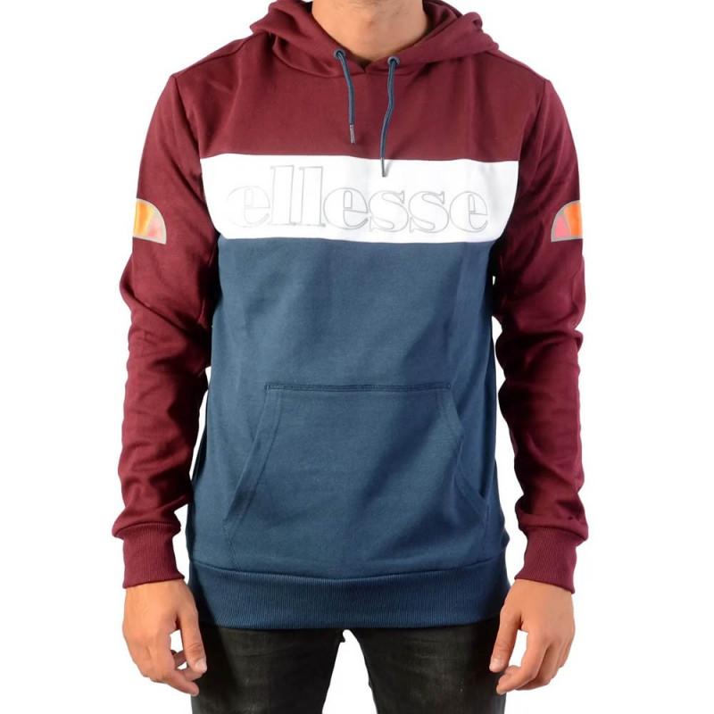 Sweatshirt Ellesse Oh Hoody Bordeaux/Blanc