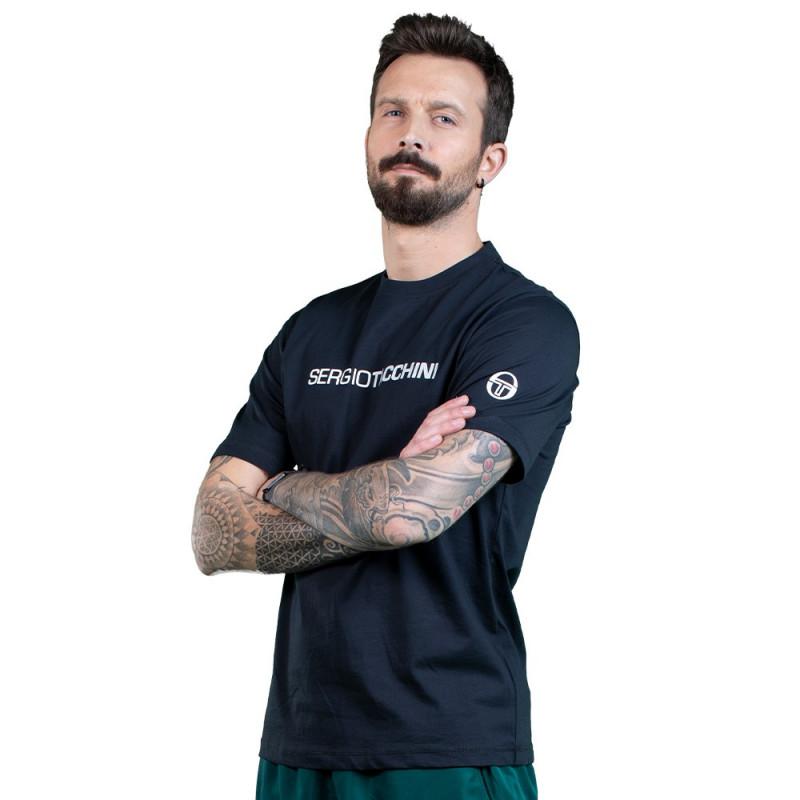 Tee-Shirt Sergio Tacchini Robin noir