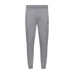 Pantalon Desell Hugo Boss de survêtement en coton avec bas de jambes resserrés