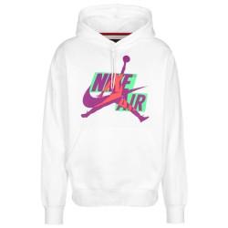 Sweatshirt à capuche Nike Jordan Jumpman Classics Blanc
