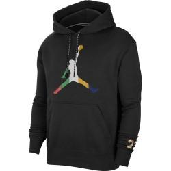 Sweatshirt à capuche Nike Jordan Sport DNA Noir