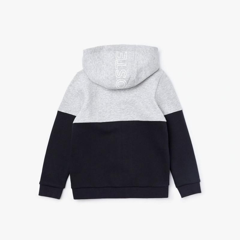 Veste zippée Lacoste SPORT pour enfant en molleton color-block