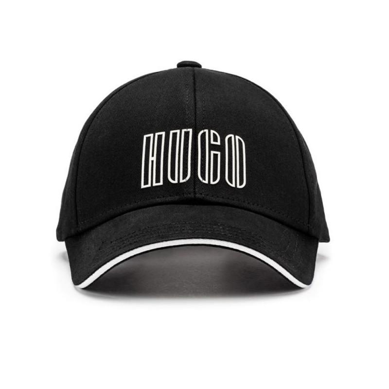 Casquette Hugo boss Men-X 567-4 en twill de coton avec logo brodé de la nouvelle saison