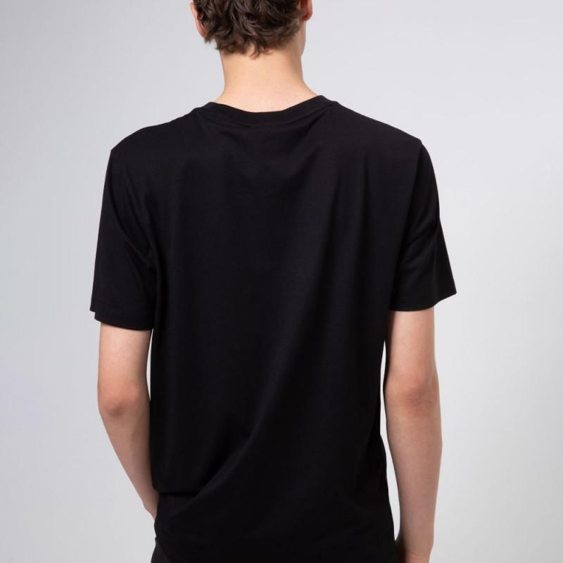 T-shirt Hugo Boss Durned-U204 en jersey de coton avec logo artistique de la nouvelle saison