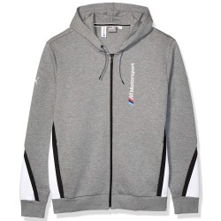 Sweat zippé Puma BMW MMS Gris