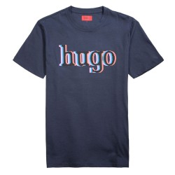 T-shirt Hugo Boss Dontrol Bleu