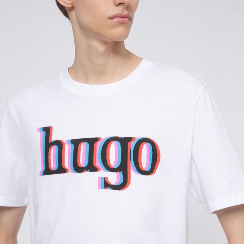 T-shirt Hugo Boss Dontrol Blanc