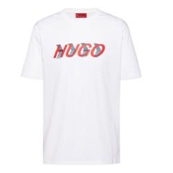 T-Shirt Hugo Boss Dicagolino Blanc