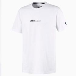 T-Shirt Puma BMW M Motorsport Blanc