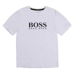 T-shirt Hugo Boss Blanc Pour Enfant