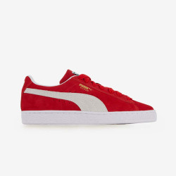 Baskets Puma Suede Classic XXI Rouge Junior