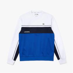 Sweatshirt Lacoste SPORT en piqué résistant color-block