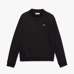 Sweatshirt Tennis Lacoste SPORT en molleton uni Noir