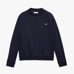 Sweatshirt Tennis Lacoste SPORT en molleton uni Bleu Marine