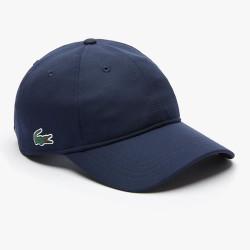 Casquette Lacoste légère unie Bleu Marine
