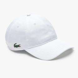 Casquette Lacoste légère unie Blanc