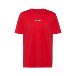 T-shirt Hugo Boss Durned_U211 en jersey de coton avec logo brodé de la nouvelle saison