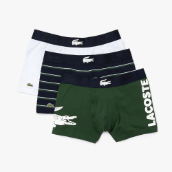Lot de 3 boxers Lacoste en coton stretch
