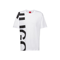 T-shirt Hugo Boss Daws211 Regular Fit en jersey de coton à logo revisité