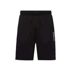 Short Hugo Boss Doshi211 Regular Fit en coton à logo vertical revisité
