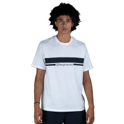 T-shirt Sergio Tacchini Anise Blanc