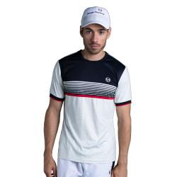 T-shirt Sergio Tacchini Alabama Blanc