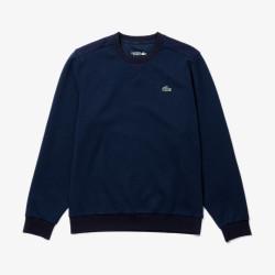 Sweatshirt Lacoste Sport à col rond avec empiècements en mesh
