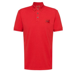Polo Hugo Boss Dereso Slim Fit en piqué de coton avec patch logo