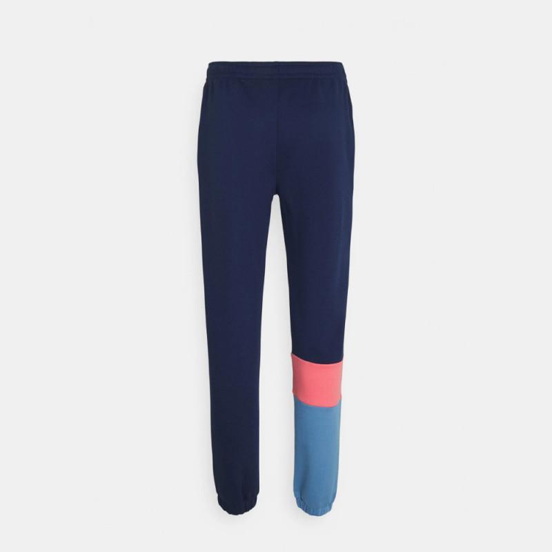 Pantalon de jogging Lacoste en molleton color-block avec marquage