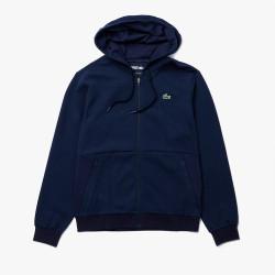 Sweatshirt à capuche Lacoste SPORT avec empiècements en mesh