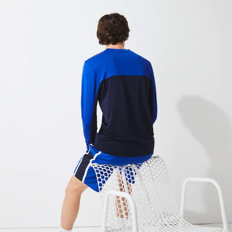 T-shirt Lacoste SPORT à manches longues en piqué respirant