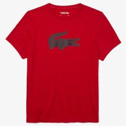 T-shirt Lacoste SPORT en jersey respirant imprimé crocodile 3D