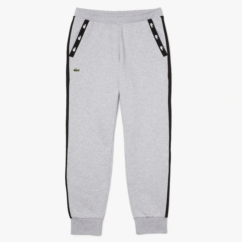 Pantalon de jogging Lacoste en molleton avec détails contrastés