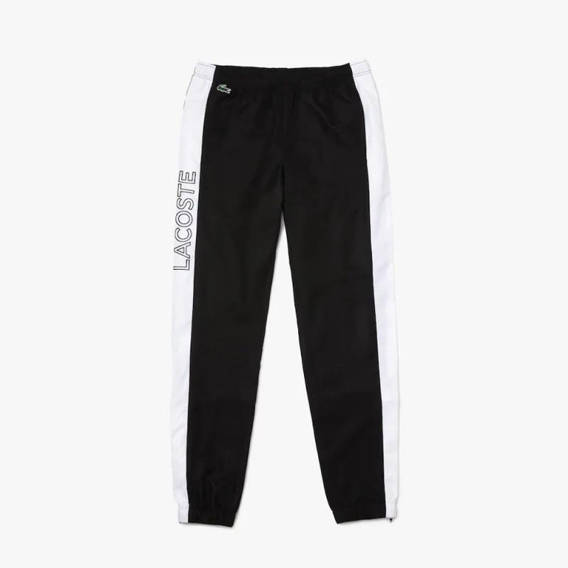 Pantalon de survêtement Lacoste SPORT avec bandes contrastées
