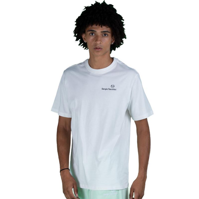 T-shirt Sergio Tacchini Arnold Blanc