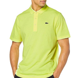 Polo regular fit Lacoste SPORT FLUO en maille ultra-légère