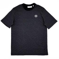 T-shirt Sergio Tacchini Ansley Noir